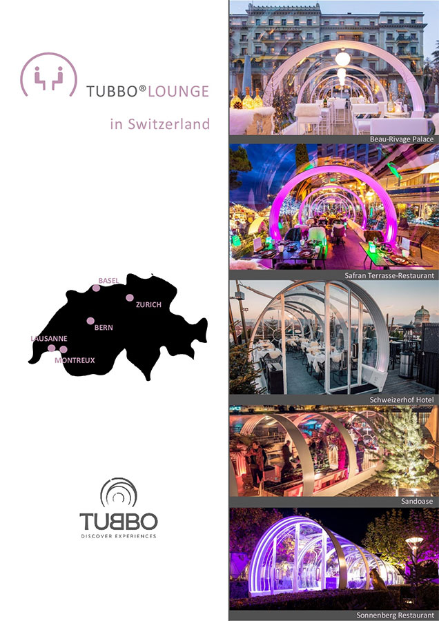 Tubbo, winter solutions for hospitality outdoor spaces in switzerland