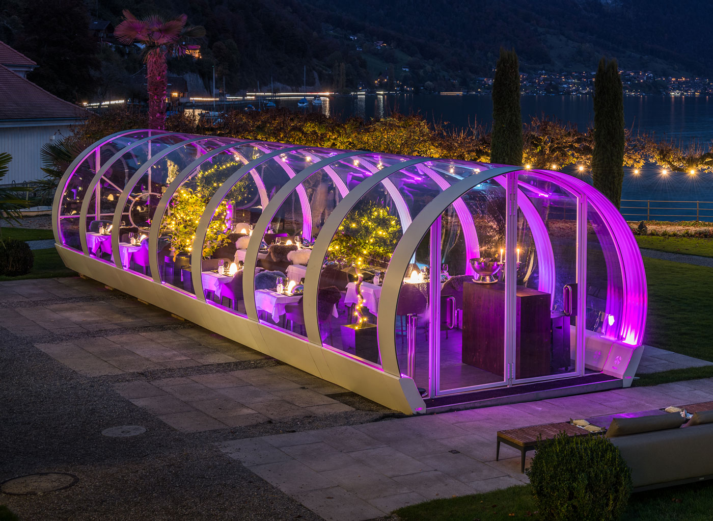 Tubbo Winter Terraces Outdoor For Hospitality And Home